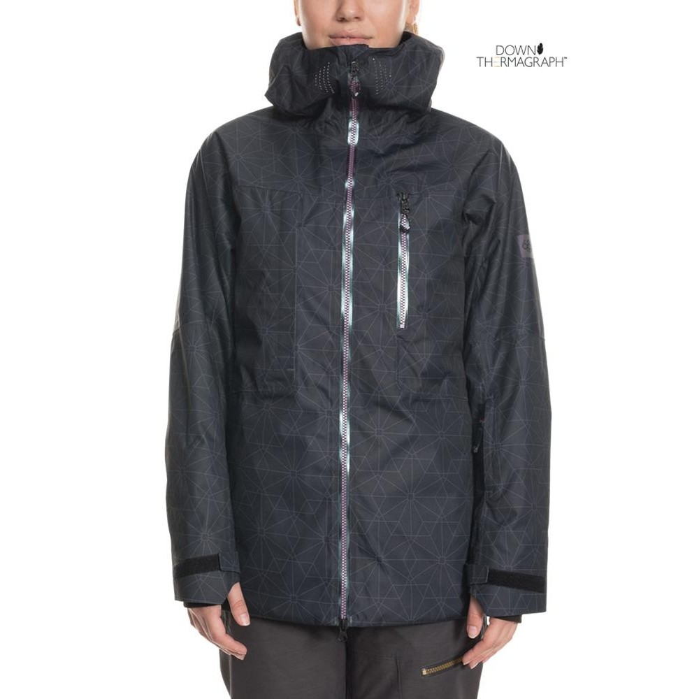 GLCR Cloud Down Therma Jacket (Black Outline)