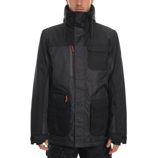 Sixer Insulated Jacket (Black Topo)