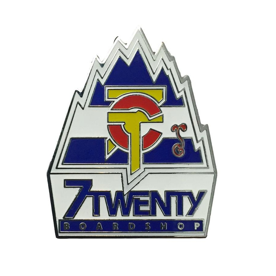 7Twenty x Grassroots Colorado Mountain Hat Pin