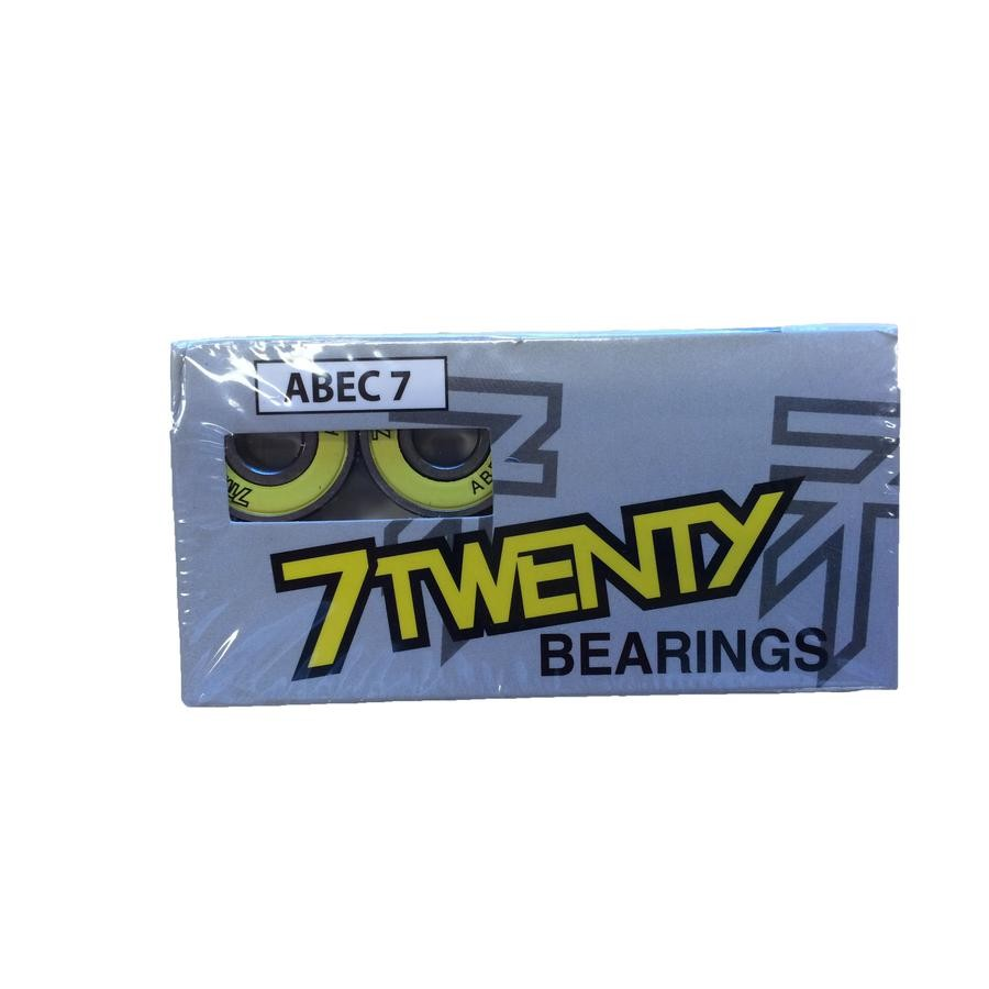 7Twenty Boardshop Skateboard Bearings ABEC 7 (Set of 8)