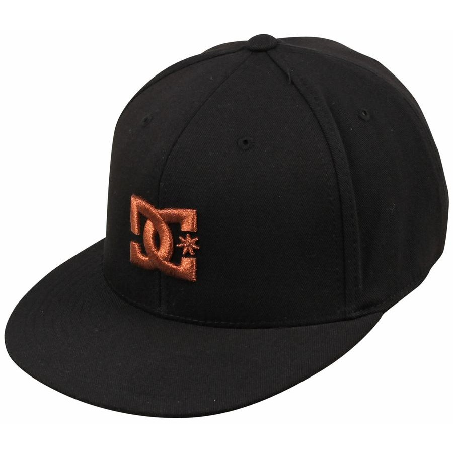 DC Take That 210 Fitted Flexfit Hat (Black Copper) Mens Hats at Denver b600bc86a35