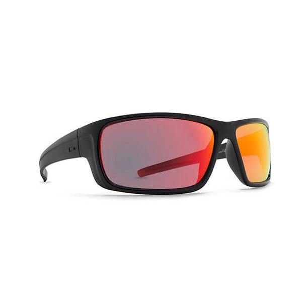 Lil Dyno Sunglasses (Black Gloss/Red Chrome)