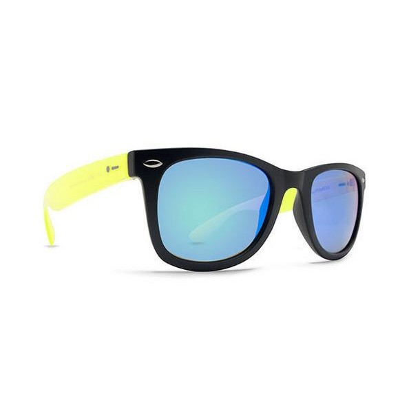 Plimsoul Sunglasses (Black Lime Satin/Green Chrome)