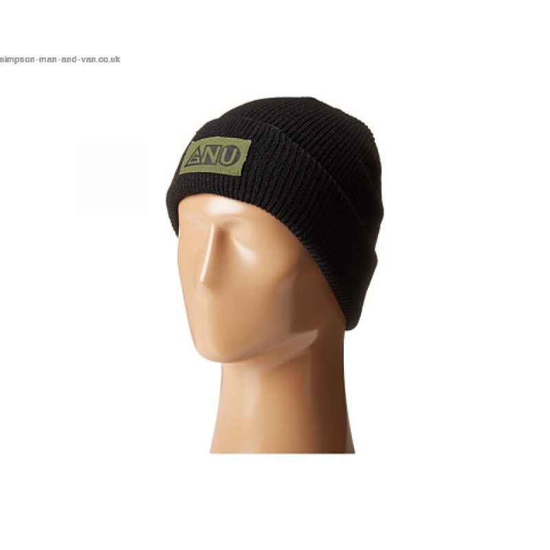 Ash Pocket Beanie (Black)