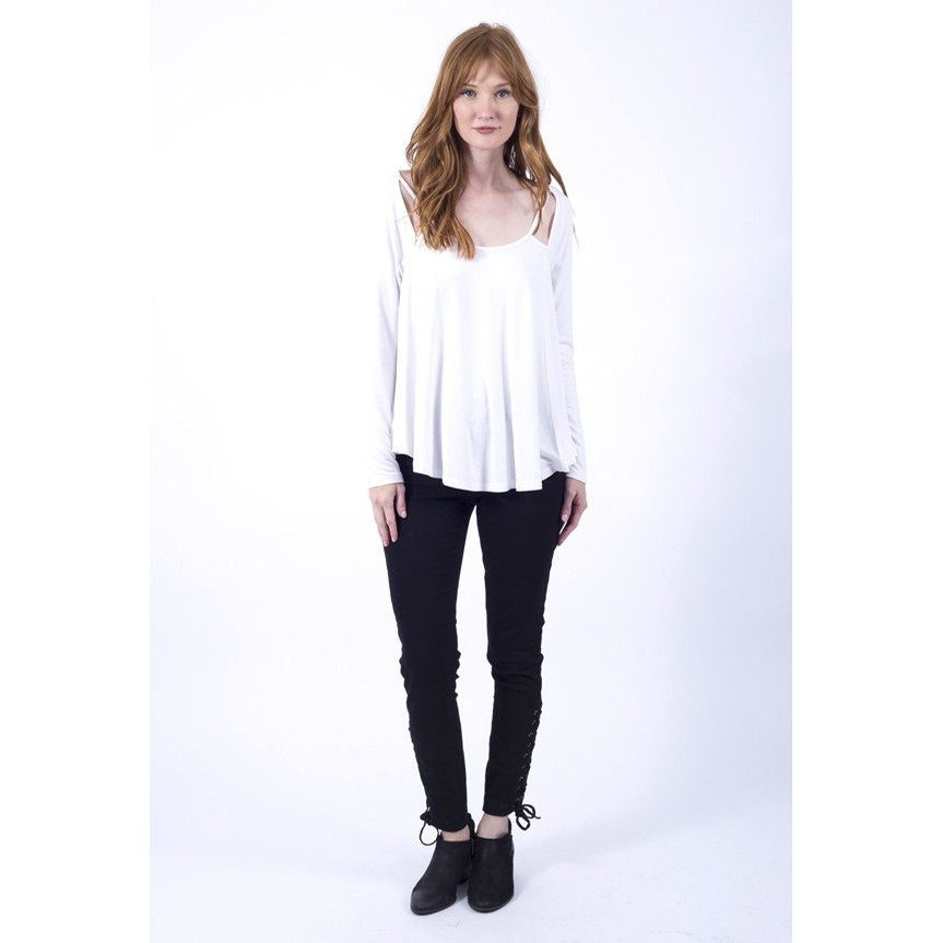 Aster Top (Ivory)