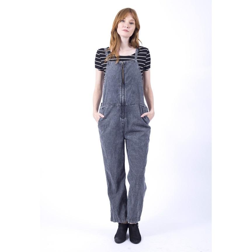 Freestyle Overalls (Black)