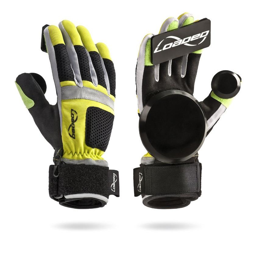 Freeride Slide Gloves (Yellow)