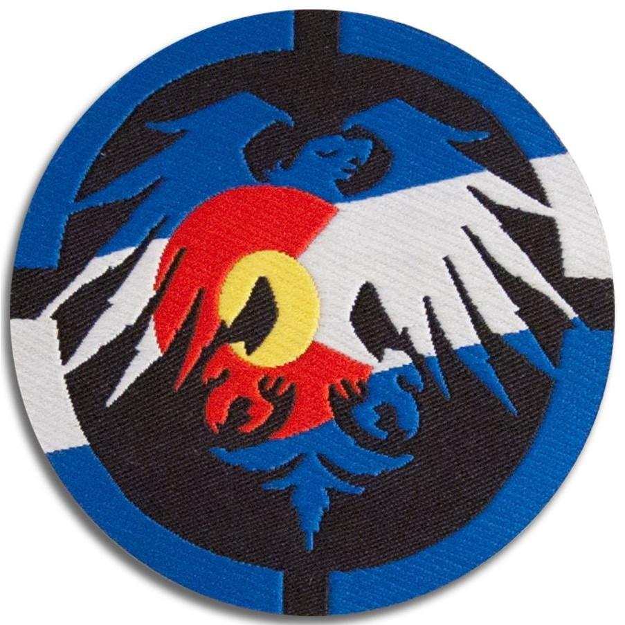 Colorado Eagle Sew On Patch