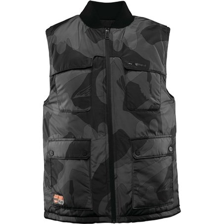 Beacon Reverse Vest (Black/Camo)