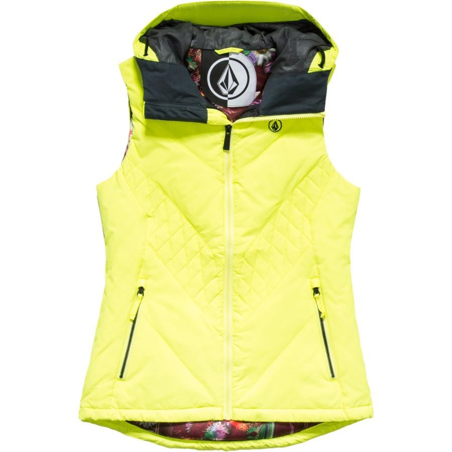 Revy Puffy Vest (Yellow Flash)