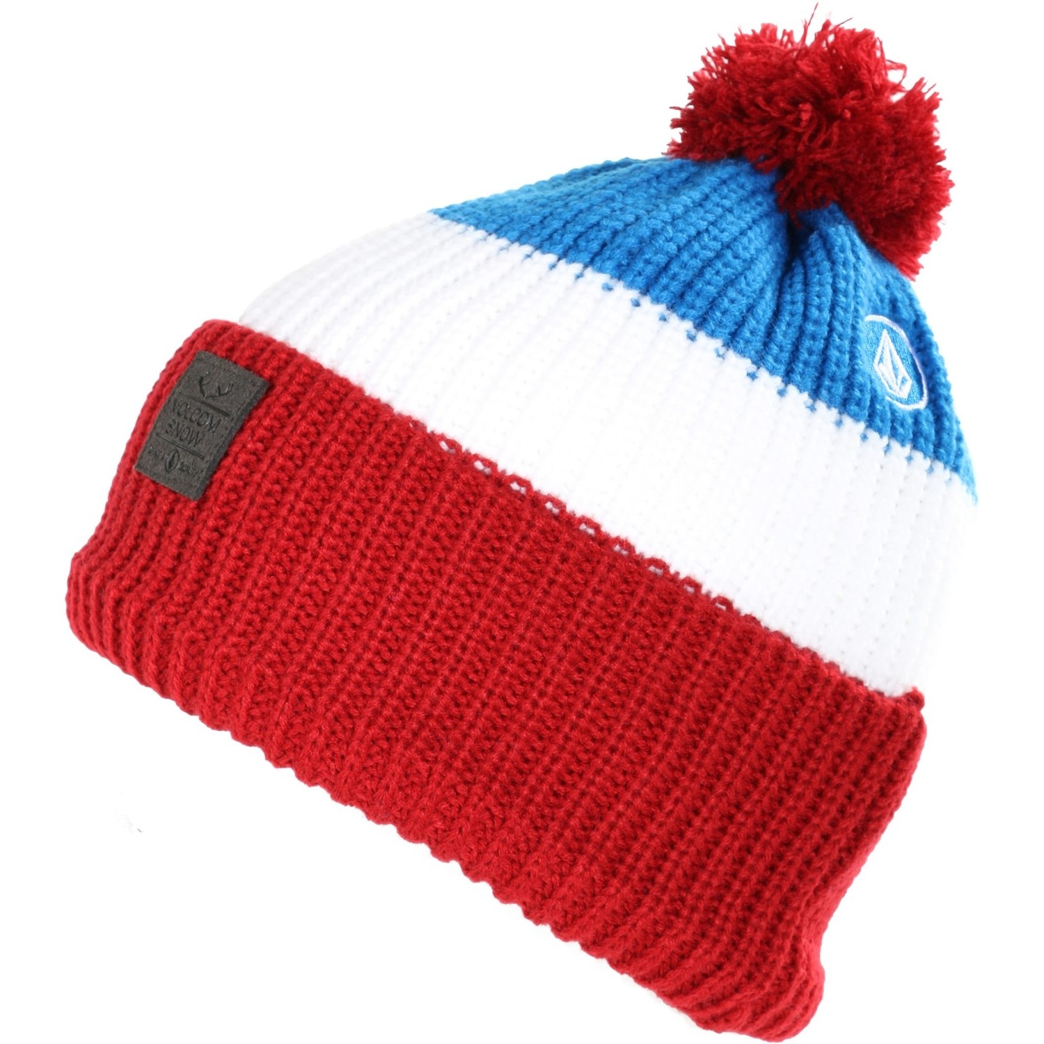 Story Stripe Beanie (Blood Red)