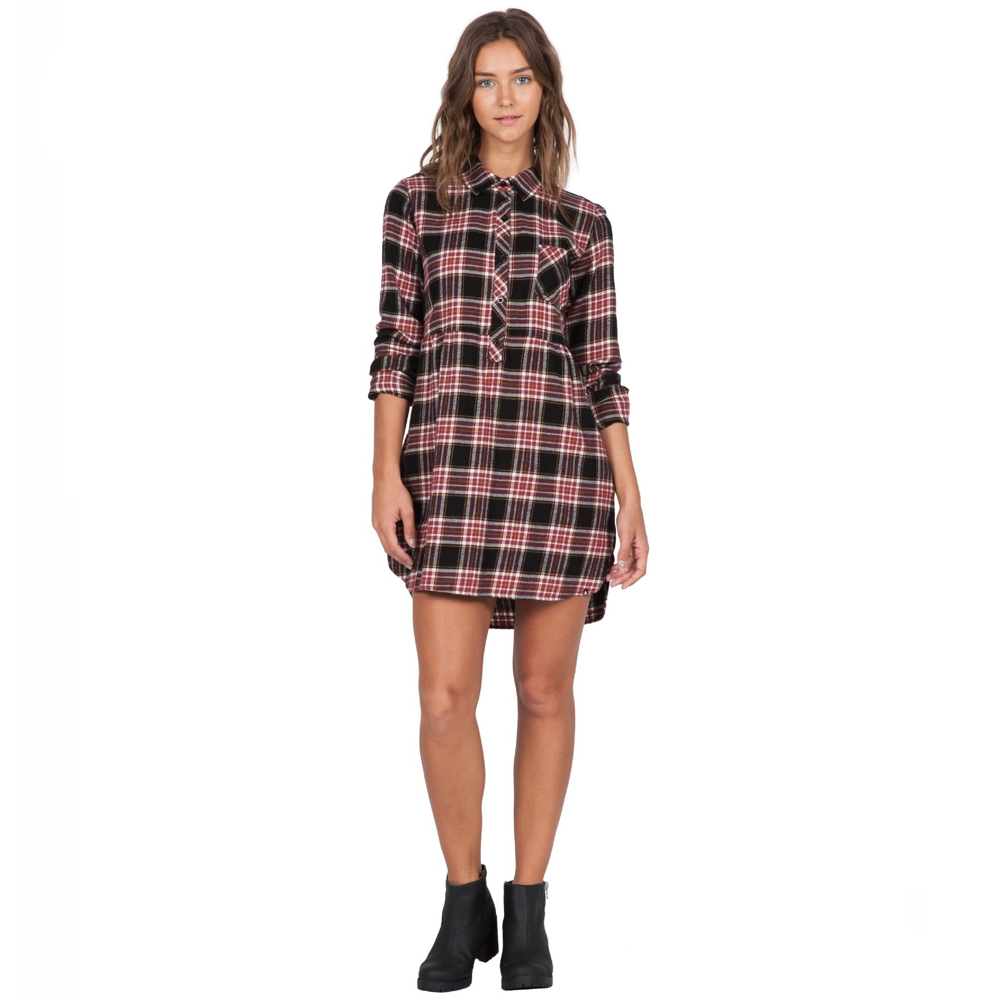 Cozy Day Dress (Black/Combo)
