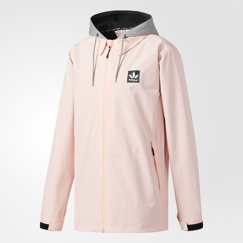 53744bbf9de Adidas Civillian Gonz 2.0 Soft Shell Jacket (Pink) Snow Jackets at ...