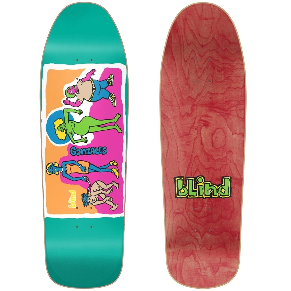 Gonz Colored People Decks