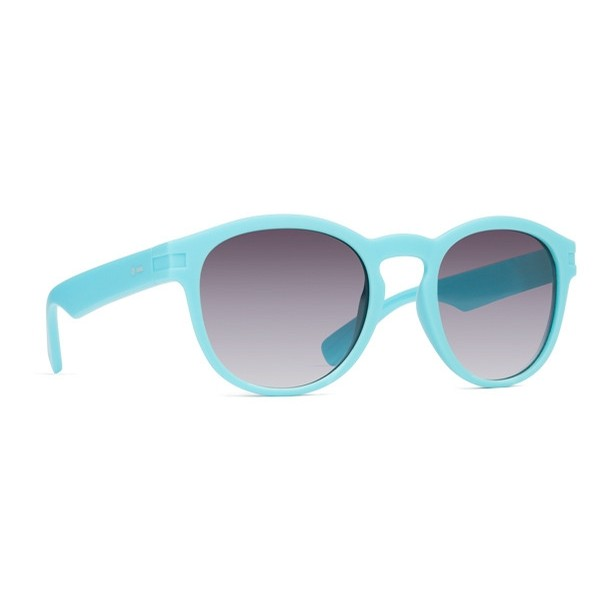 Gogo Sunglasses (Mint Satin/Grey Gradient)