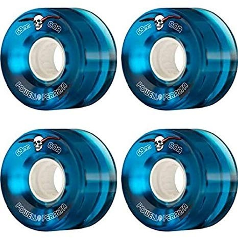 Clear Cruiser Wheels (Blue)