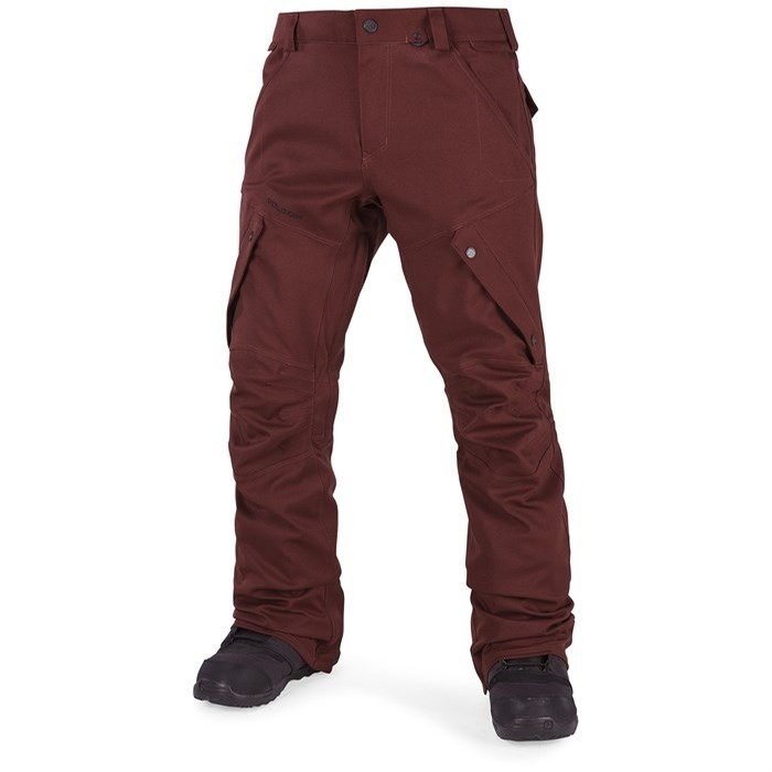 Volcom Articulated Pant (Burnt Red)