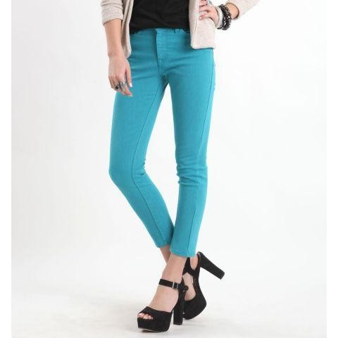 What The Twill Pant (Teal)