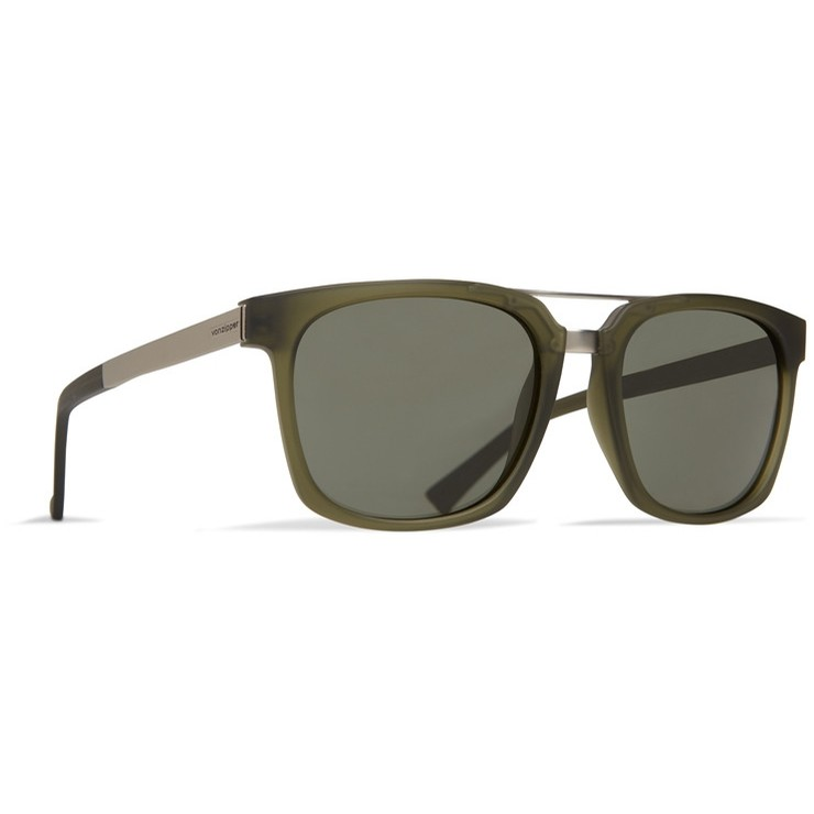 Plimpton Glasses (Forest Satin/Grey Green)