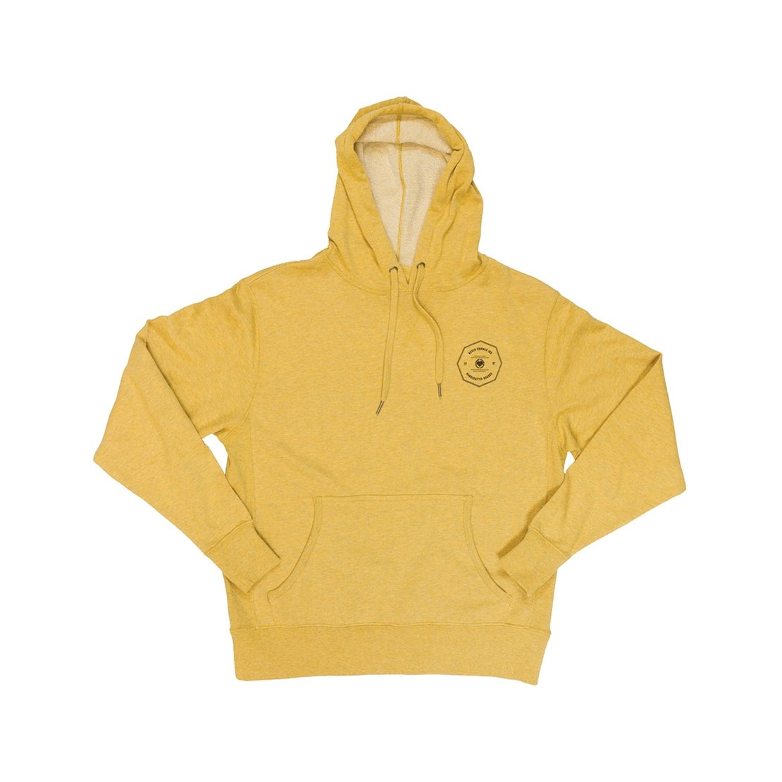 WMNS Badge Pullover Hoodie (Golden Wheat)