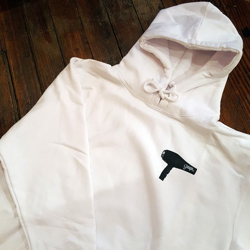 BLOW DRY HOODIE (WHITE)