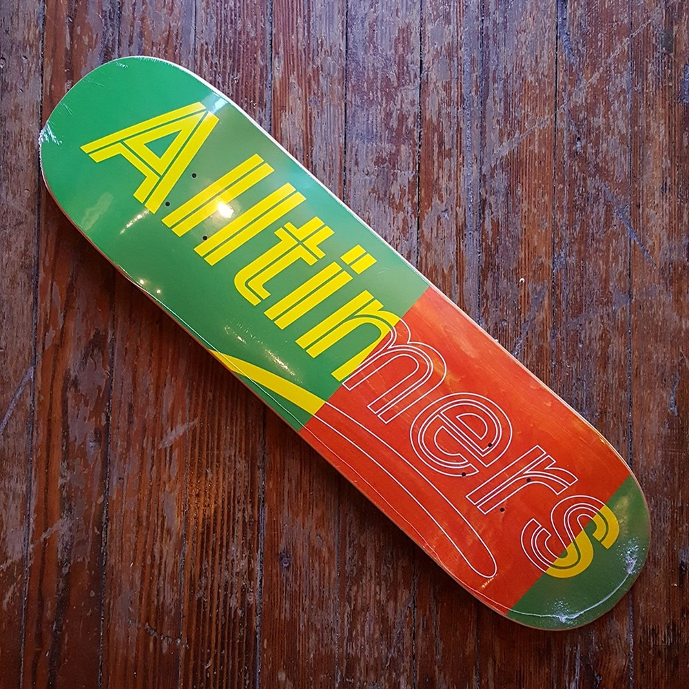 GREEN TRACE LOGO DECK