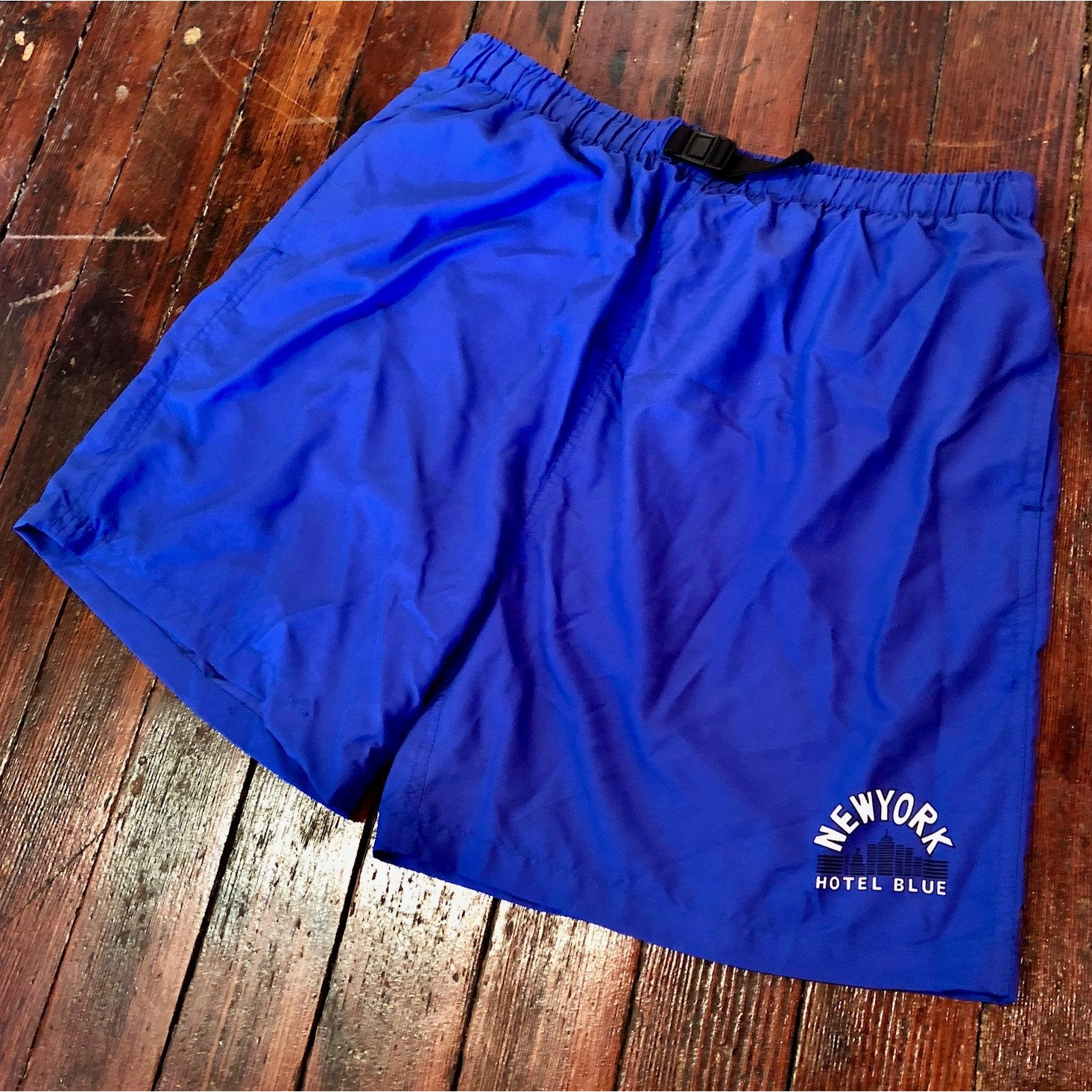 HB ARCH SHORTS (BLUE)