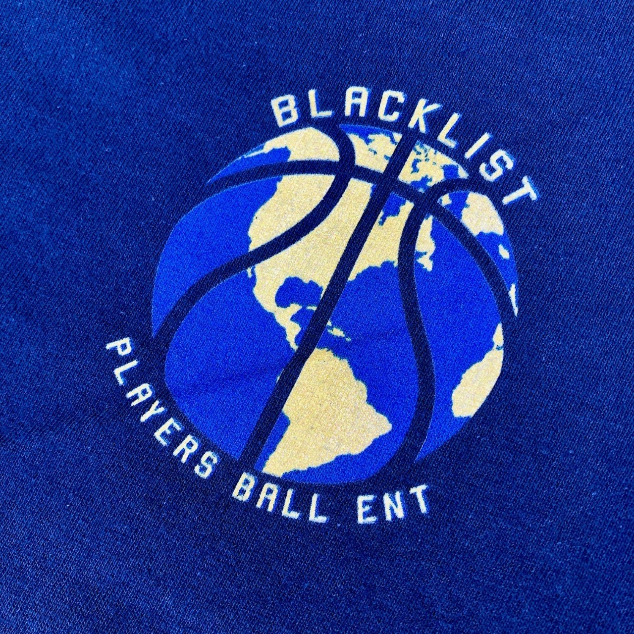 PLAYERS BALL WORLD PEACE TEE (BLUE)