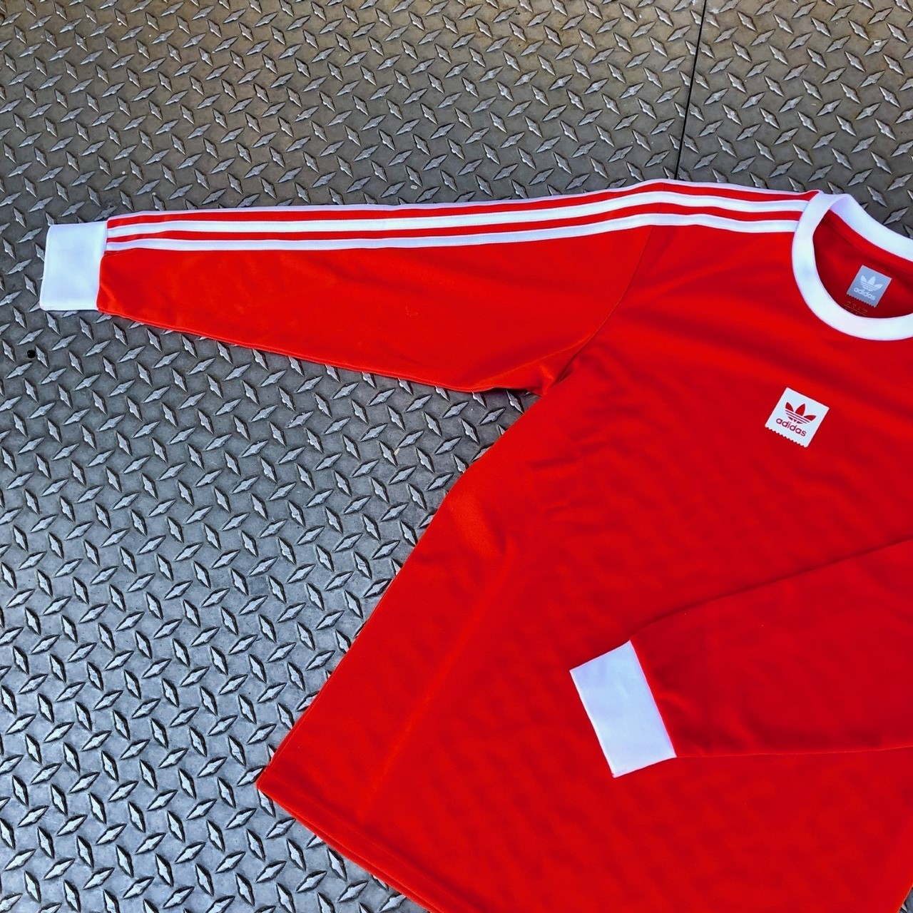 ADIDAS LS CLUB JERSEY (SOLOR RED)