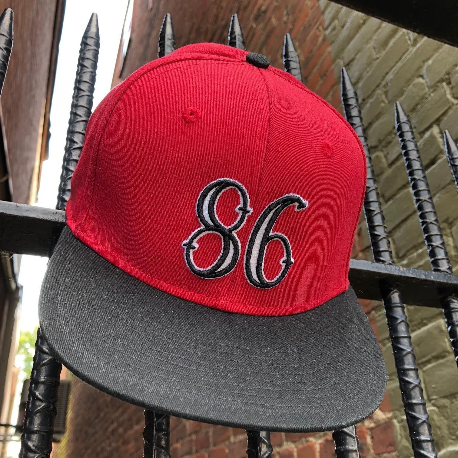 86 SNAPBACK (RED/BLACK/WHITE)