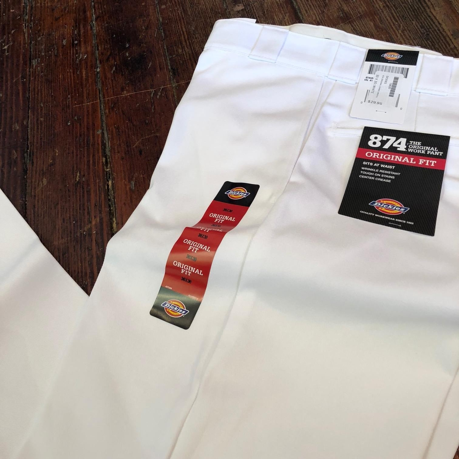 DICKIES 874 ORIGINAL CHINO (WHITE)