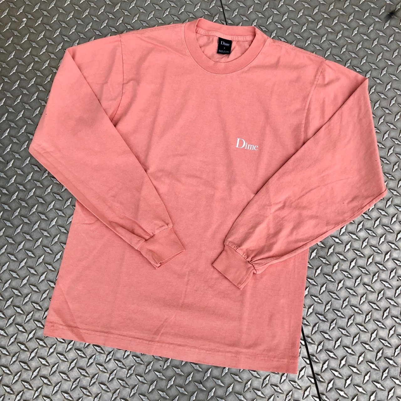 CLASSIC LOGO L/S TEE (PINK)