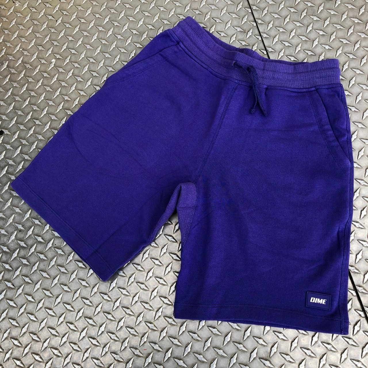 FRENCH TERRY SHORTS (PURPLE)