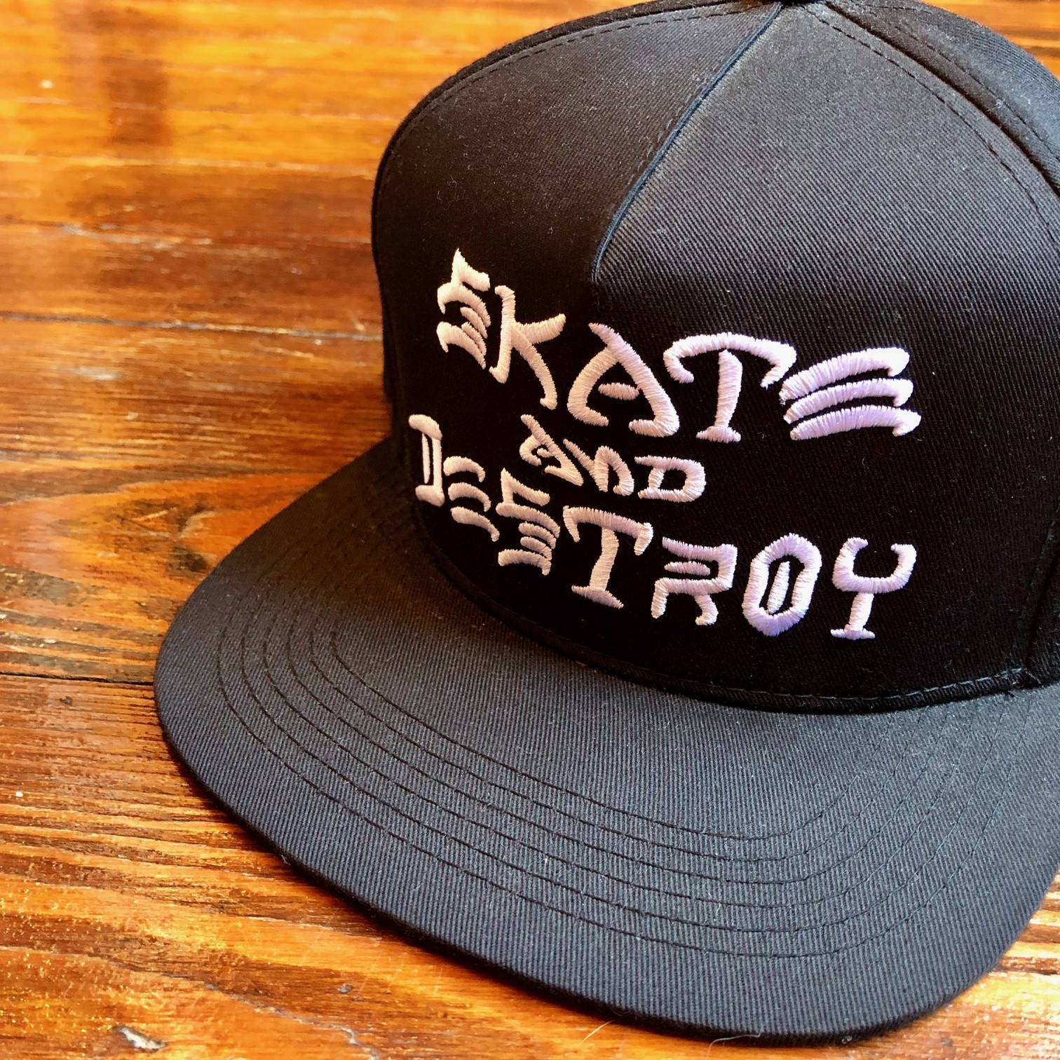 SKATE AND DESTROY SNAPBACK