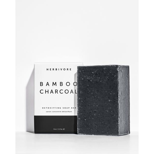 Herbivore Bamboo Charcoal Cleansing Bar Soap