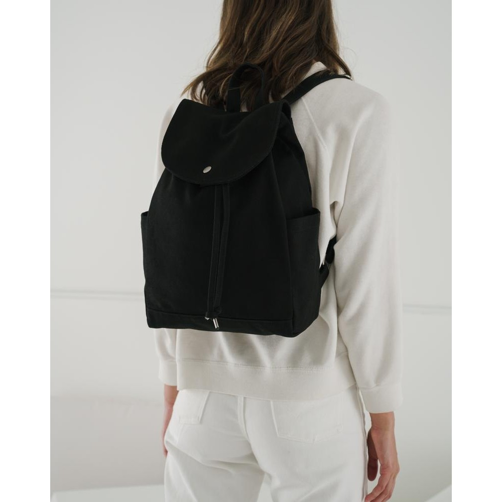 Drawstring Backpack (Black)