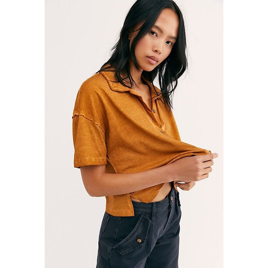 Free People Weekend Rush Button Down