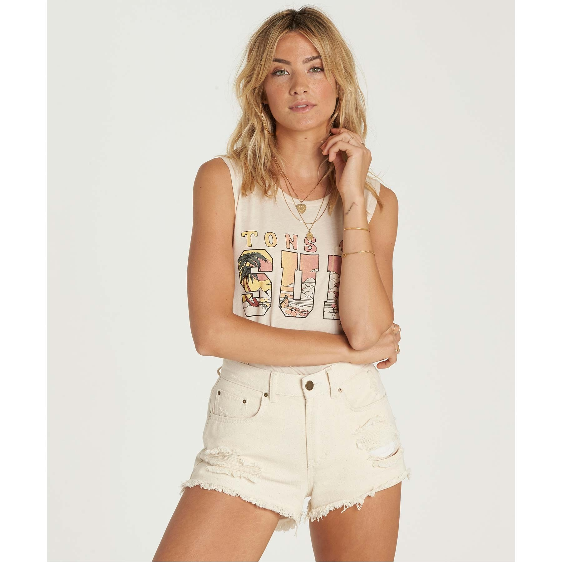 Drift Away Denim Shorts