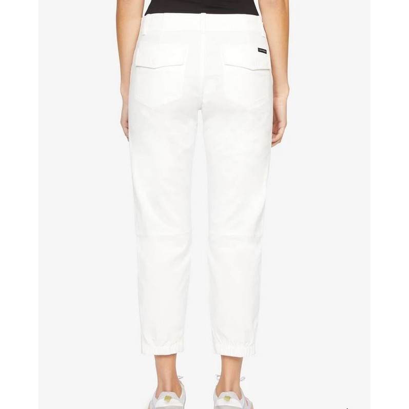 Sanctuary Formation Crop Pant in White Jasmine