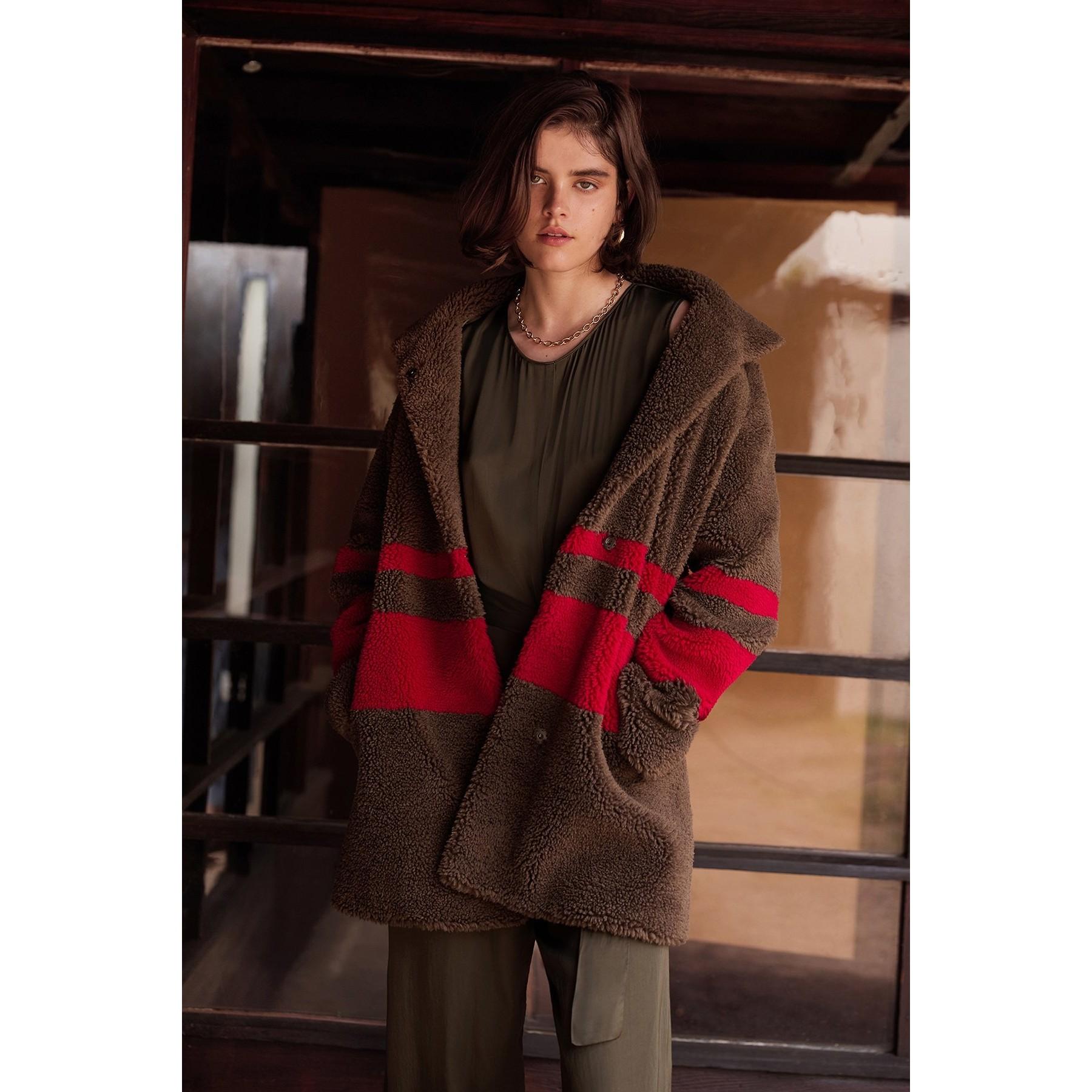 Evian Sherpa Coat