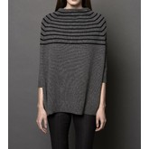 360 Sweater Margot (Charcoal/Black)