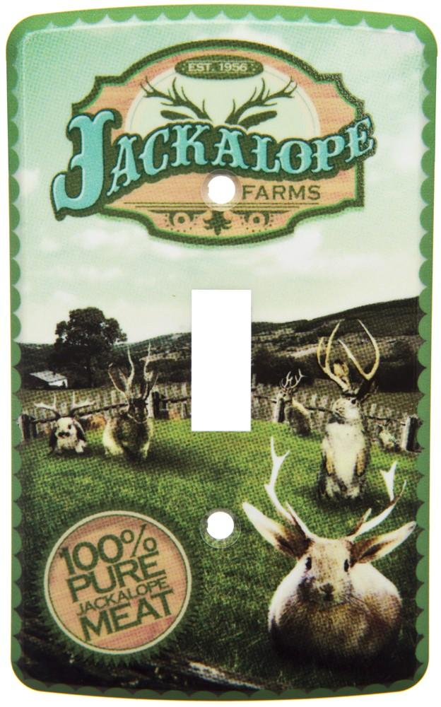 Jackalope Farms Switch Plate Cover