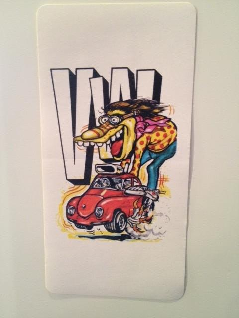 VW Hot Rod Sticker