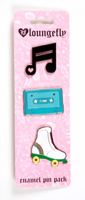 Music Emamel Pin Pack