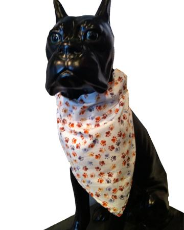 Paw Prints Pet Bandana
