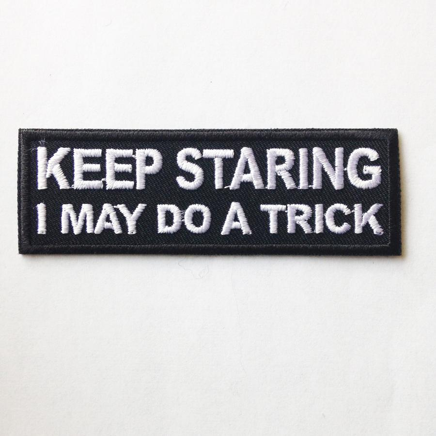 Keep Staring Patch