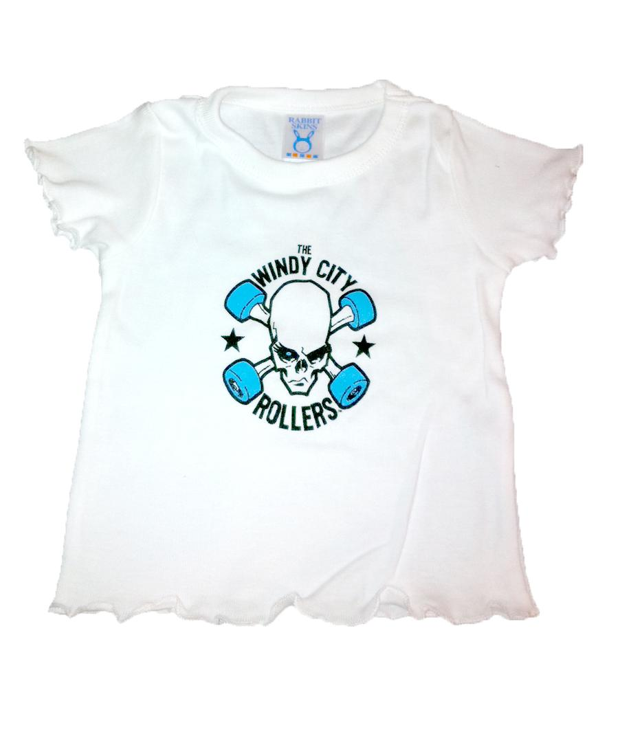 WCR Ruffled Logo Toddler Tee
