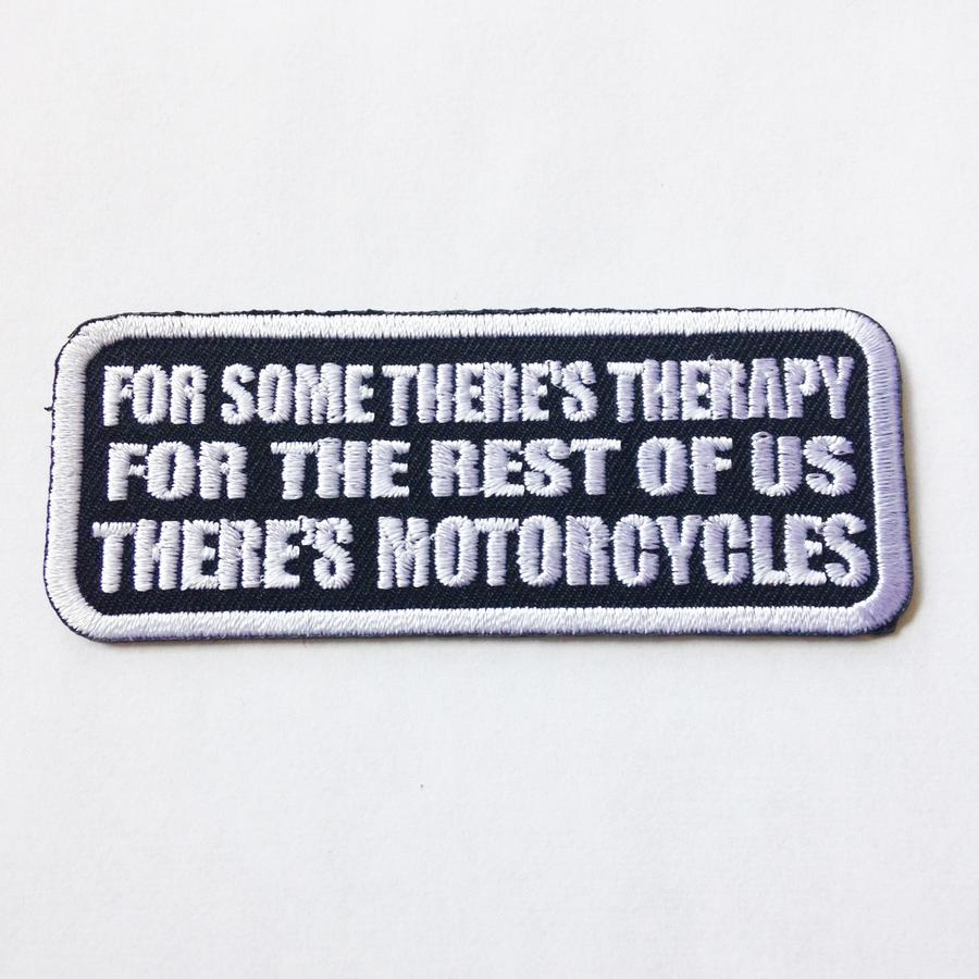 For Some There's Therapy Patch