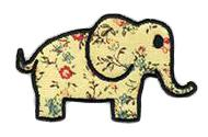 Elephant Flowered Patch