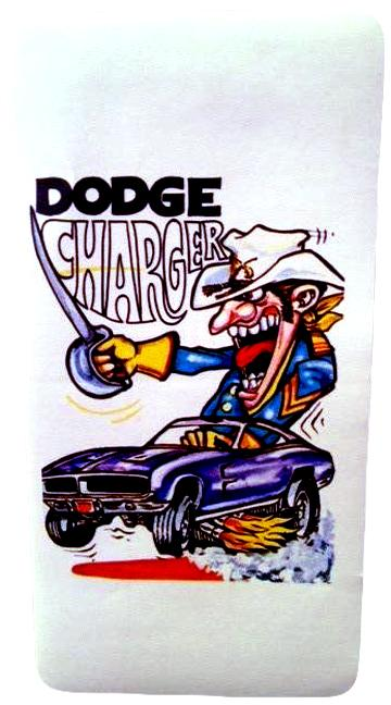 Dodge Charger Hot Rod Sticker